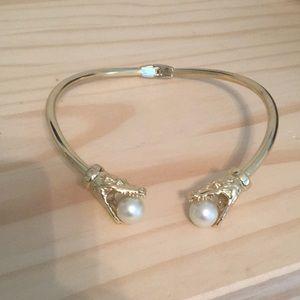 BaubleBar Jewelry - Unique crocodile choker